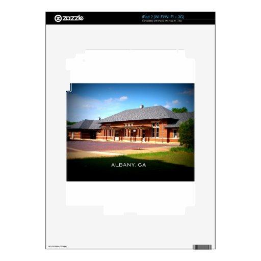 ESTACIÓN de la UNIÓN - Albany, Georgia iPad 2 Calcomanía