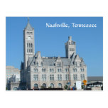 Estación de la unión de Nashville Tarjeta Postal