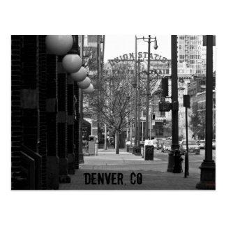 Estación de la unión, Denver Tarjeta Postal