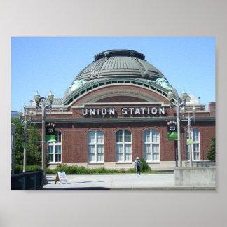 Estación de la unión poster