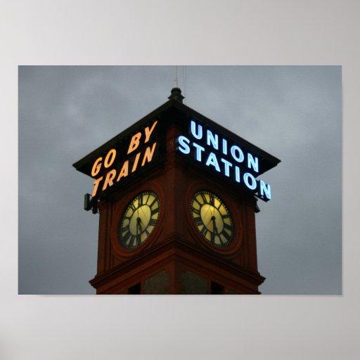 estación de la unión póster