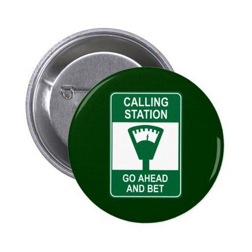 Estación de llamada pin redondo 5 cm