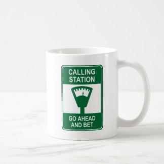 Estación de llamada taza