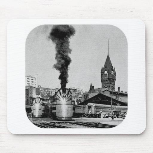 Estación de Milwaukee del ferrocarril de Milwaukee Alfombrilla De Ratón