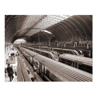 Estación de Paddington, Londres Postales