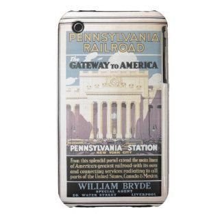 Estación de Penn, entrada a América 1929 iPhone 3 Protector