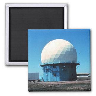 Estación de radar meteorológico de Doppler - norma Imán Cuadrado