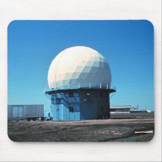 Estación de radar meteorológico de Doppler - norma Tapetes De Ratones