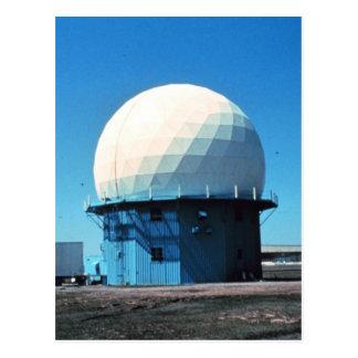 Estación de radar meteorológico de Doppler - norma Tarjetas Postales