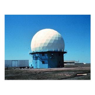 Estación de radar meteorológico de Doppler - norma Tarjeta Postal