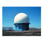Estación de radar meteorológico de Doppler - Tarjeta Postal