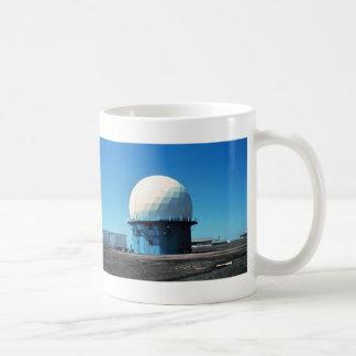 Estación de radar meteorológico de Doppler - Taza Básica Blanca