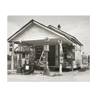 Estación de servicio del país, 1939 lona estirada galerias