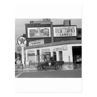 Estación de servicio del puerto de Benton, los Postal