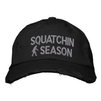 Estación de Squatchin Gorra De Beisbol Bordada