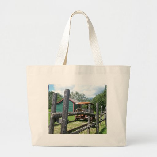 Estación de tren bolsas lienzo