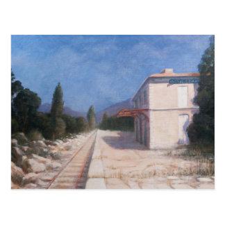 Estación de tren Châteauneuf 2012 Tarjetas Postales