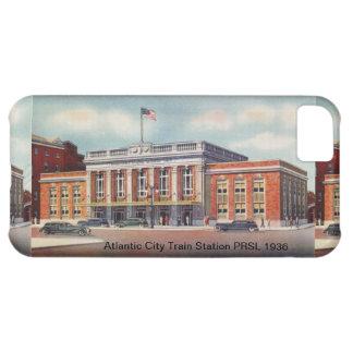 Estación de tren de Atlantic City PRSL 1936 Funda Para iPhone 5C