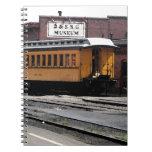 Estación de tren de Durango Colorado Libreta Espiral