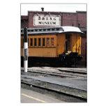 Estación de tren de Durango Colorado Pizarras Blancas De Calidad