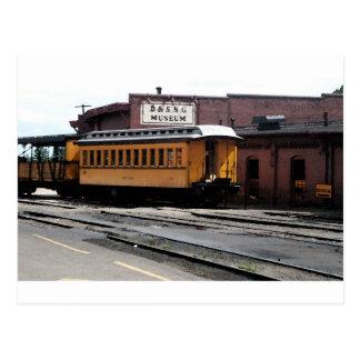Estación de tren de Durango Colorado Tarjeta Postal