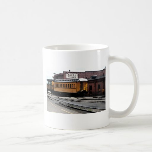 Estación de tren de Durango Colorado Taza De Café
