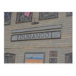 Estación de tren de Durango Postal