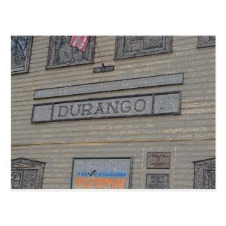 Estación de tren de Durango Tarjetas Postales