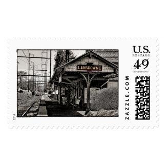 Estación de tren de Lansdowne Philadelphia, PA Envio