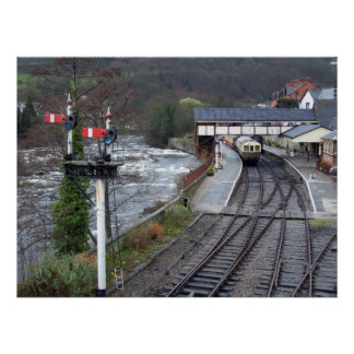 Estación de tren de Llangollen Impresiones