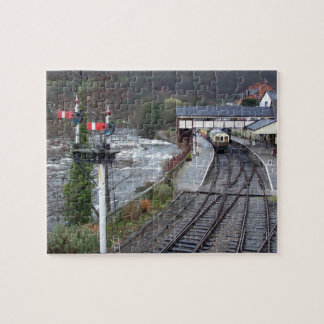 Estación de tren de Llangollen Puzzle Con Fotos