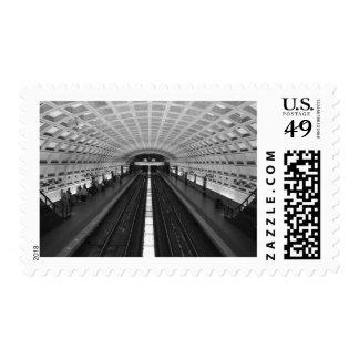 Estación de tren de Washington DC Estampilla