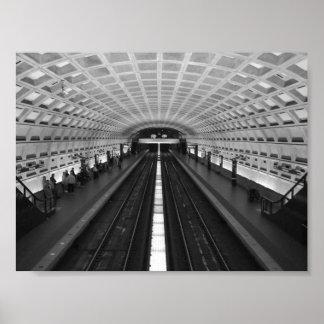 Estación de tren de Washington DC Poster