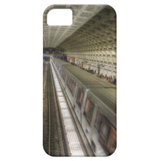 Estación de tren del metro del Washington DC Funda Para iPhone SE/5/5s
