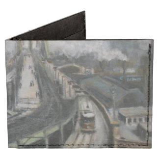 Estación de tren del puente de Brooklyn del Billeteras Tyvek®