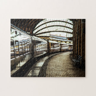 Estación de tren puzzle
