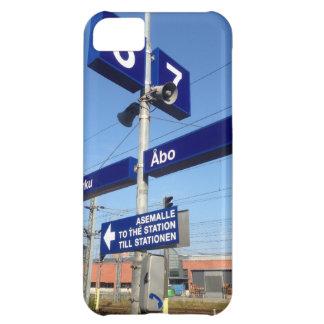 Estación de Turku en Finlandia Funda Para iPhone 5C