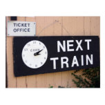 Estación de Wallingford, Oxfordshire, Reino Unido Tarjeta Postal