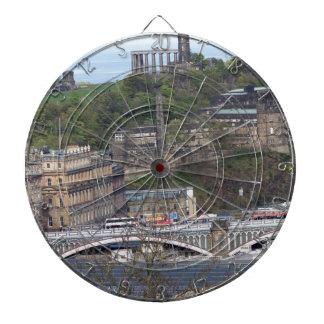 Estación de Waverley y otros monumentos en Tablero Dardos