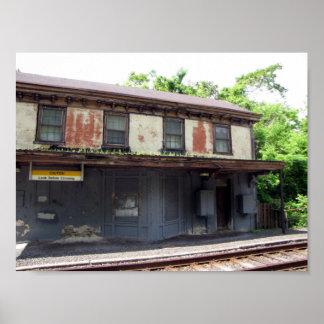 Estación del callejón sin salida impresiones