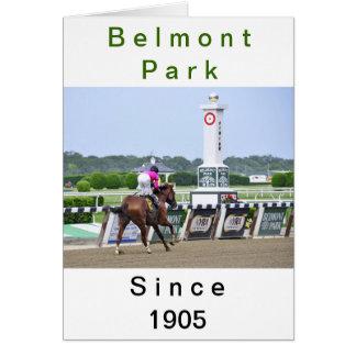 Estación del campeonato de la caída en Belmont Par Tarjetón