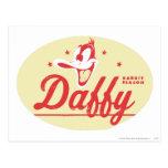 Estación del conejo de DAFFY DUCK™ Tarjetas Postales