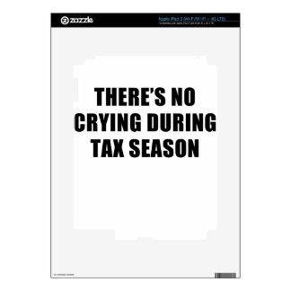 estación del impuesto iPad 3 pegatina skin