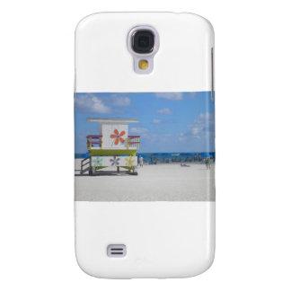 Estación del salvavidas de Miami Beach Funda Para Galaxy S4
