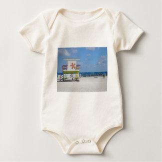 Estación del salvavidas de Miami Beach Mamelucos De Bebé