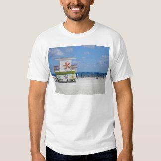 Estación del salvavidas de Miami Beach Poleras