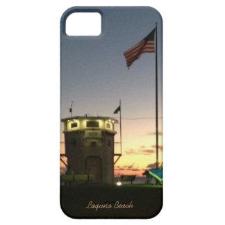 Estación del salvavidas del Laguna Beach iPhone 5 Carcasas