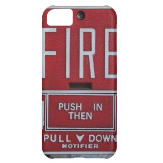 Estación divertida del tirón del fuego de la emerg funda para iPhone 5C