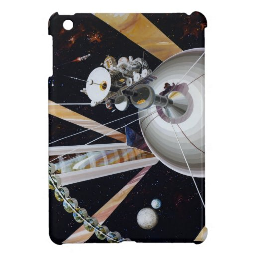 Estación espacial de la ciencia ficción del futuro