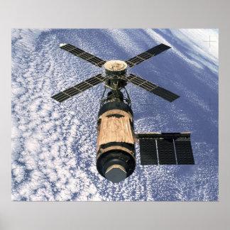 Estación espacial de Skylab Impresiones